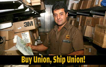 Put your purchase power behind your paycheck and your pension by choosing union-made products and services