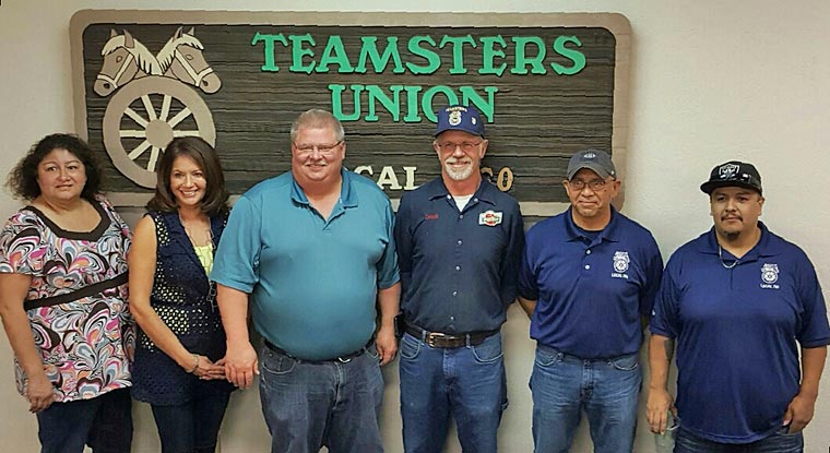 Teamsters Local 760 Executive Board, 2016. Elected by White Ballot.